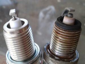 clean spark plugs