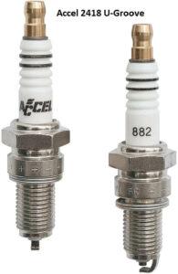 Accel Spark Plugs – 2418